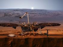 NASA посадило аппарат InSight наМарс