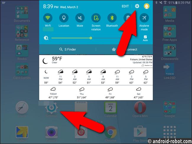 Метод Pre-Marshmallow: переместить одобренные приложения на SD-карту вручную