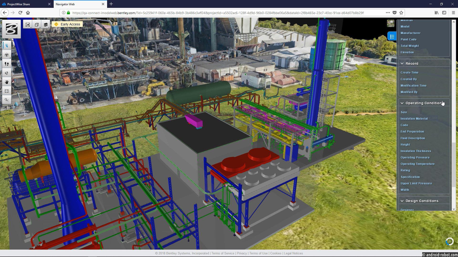Bentley: готовится запуск сервиса iTwin™ Services и облачной службы цифровых двойников проектов PlantSight
