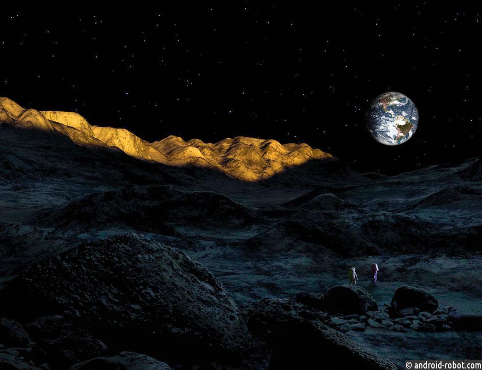 Китайский луноход прилунится на темную сторону Луны в 2019
