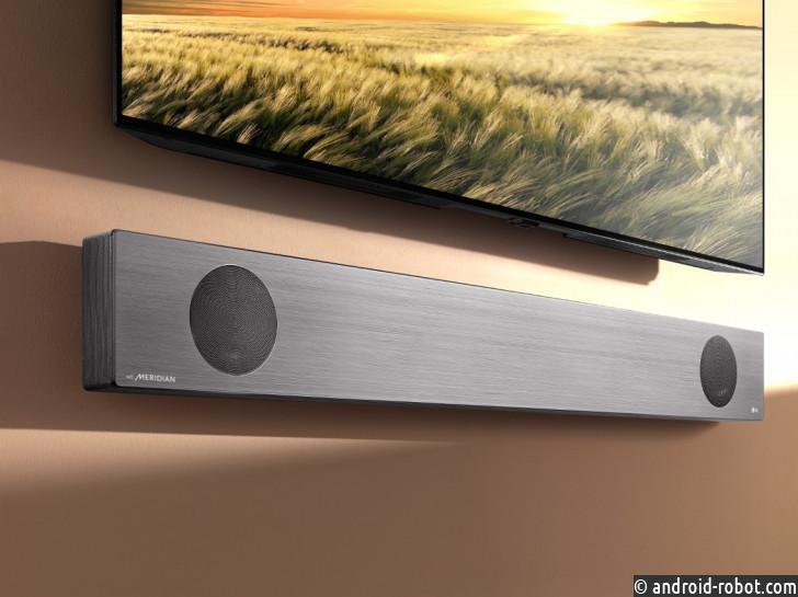 LG продемонстрирует новые высококлассные звуковые панели Google Assistant на CES