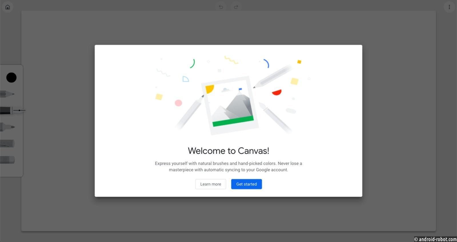 Google запускает Chrome Canvas, веб-инструмент для рисования