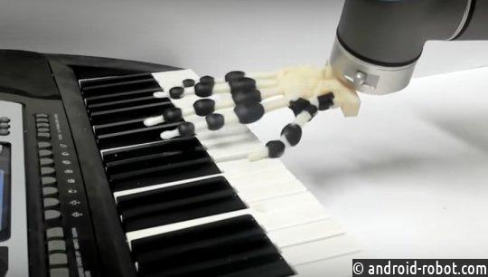 Ученые разработали 3D-печатную роботизированную руку, которая играет на пианино