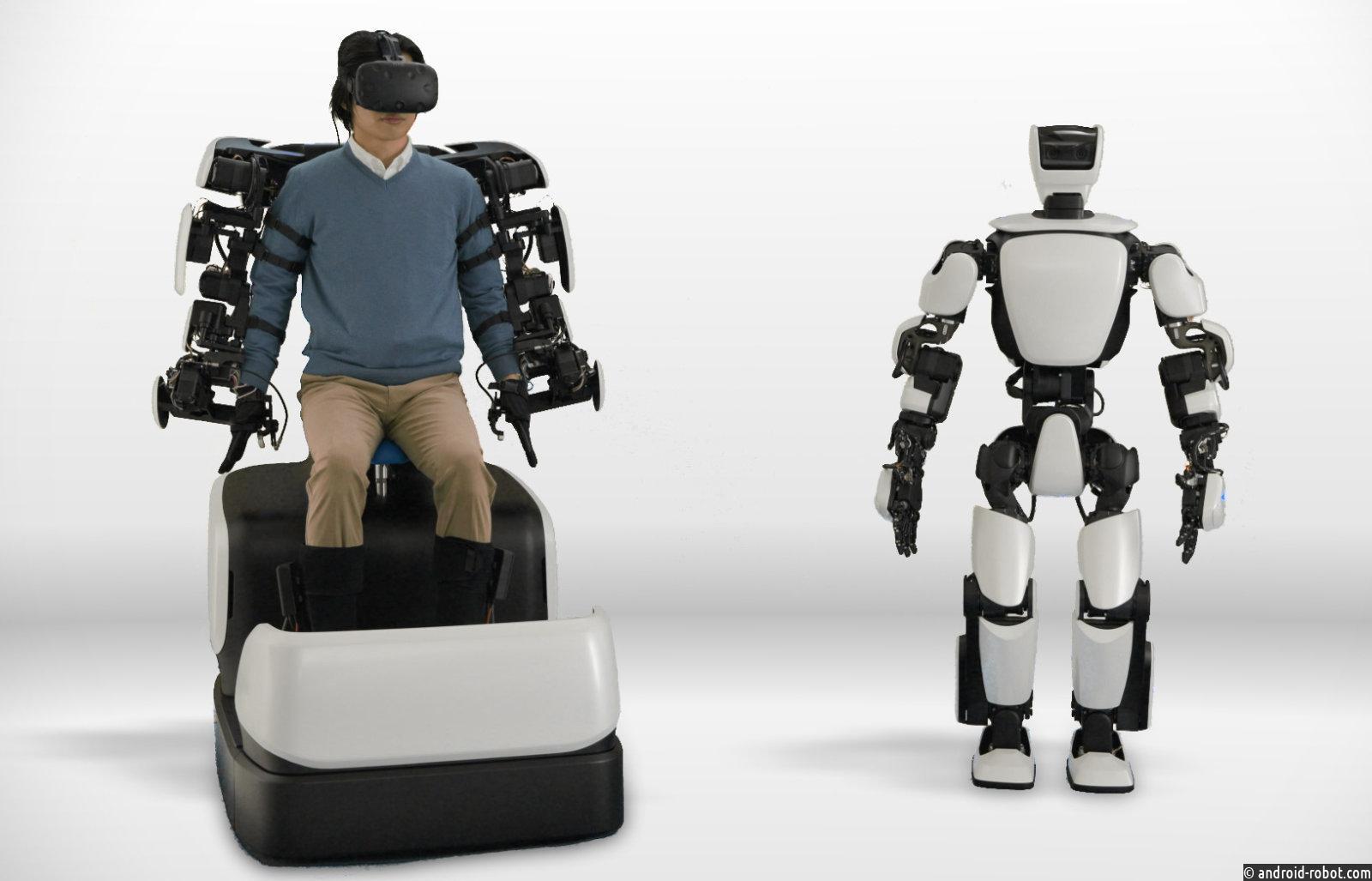 Компания Toyota обучает робота с помощью технологий 5G