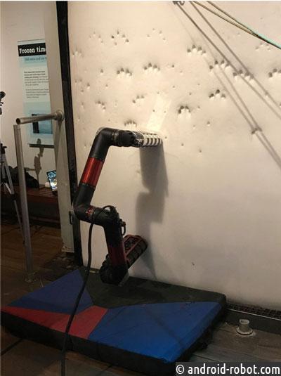 NASA представила нового робота IceWorm для ледолазания