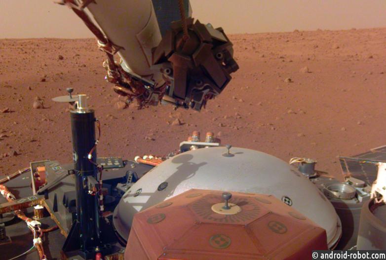 Робот Mars InSight взял первые пробы с поверхности Марса