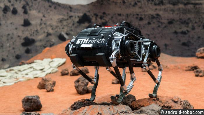 В Нидерландах тестируется робот SpaceBok для освоения Марса
