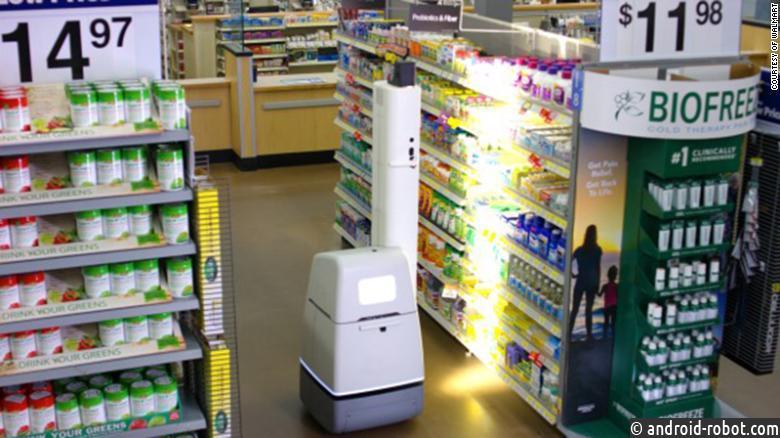 Магазины Walmart стали использовать роботов и приложения