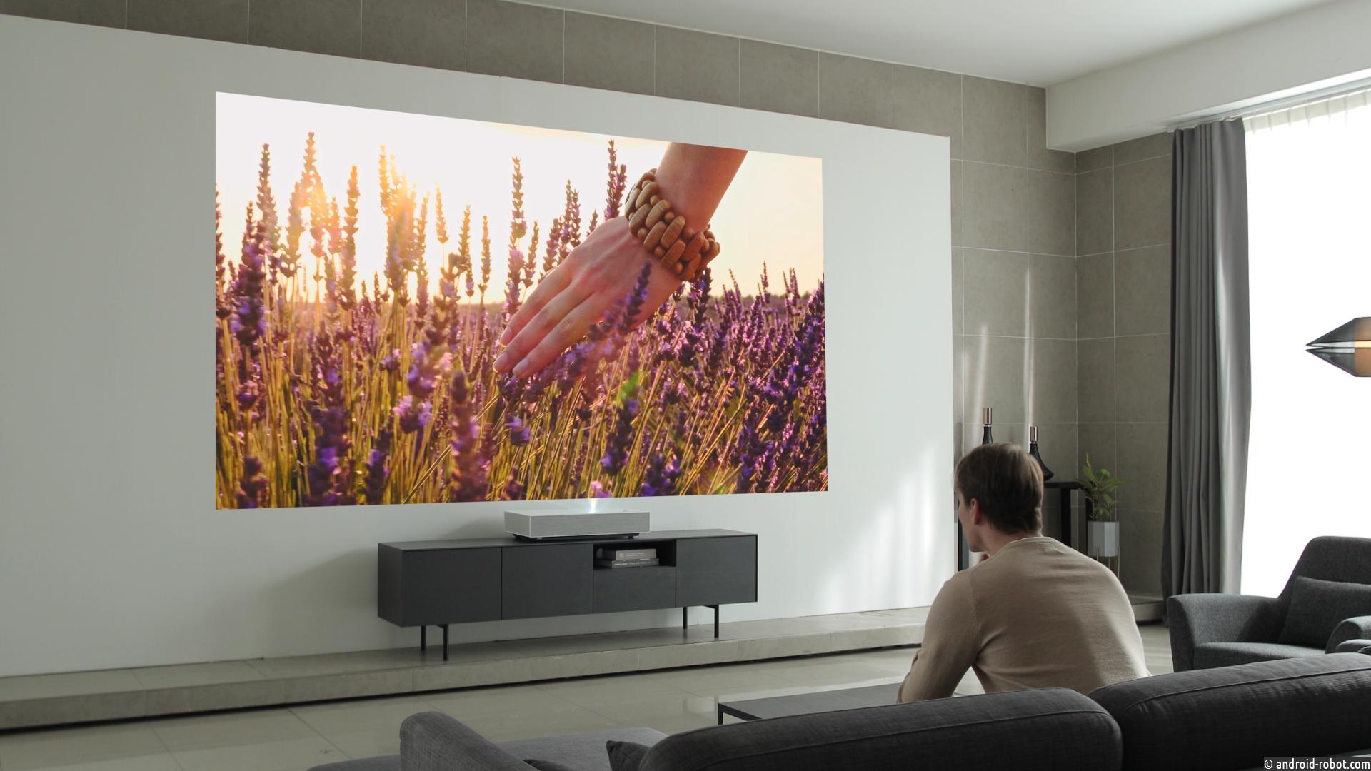 LG представила проектор CINEBEAM LASER 4K на выставке CES 2019
