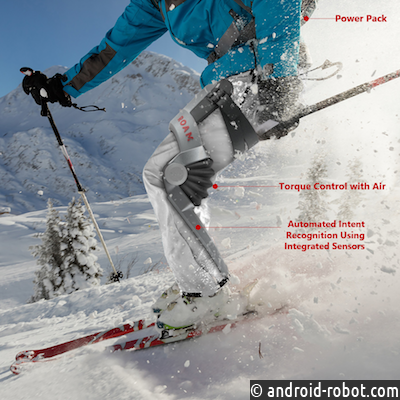 Разработан лыжный экзоскелет ELEVATE, повышающий силу ног