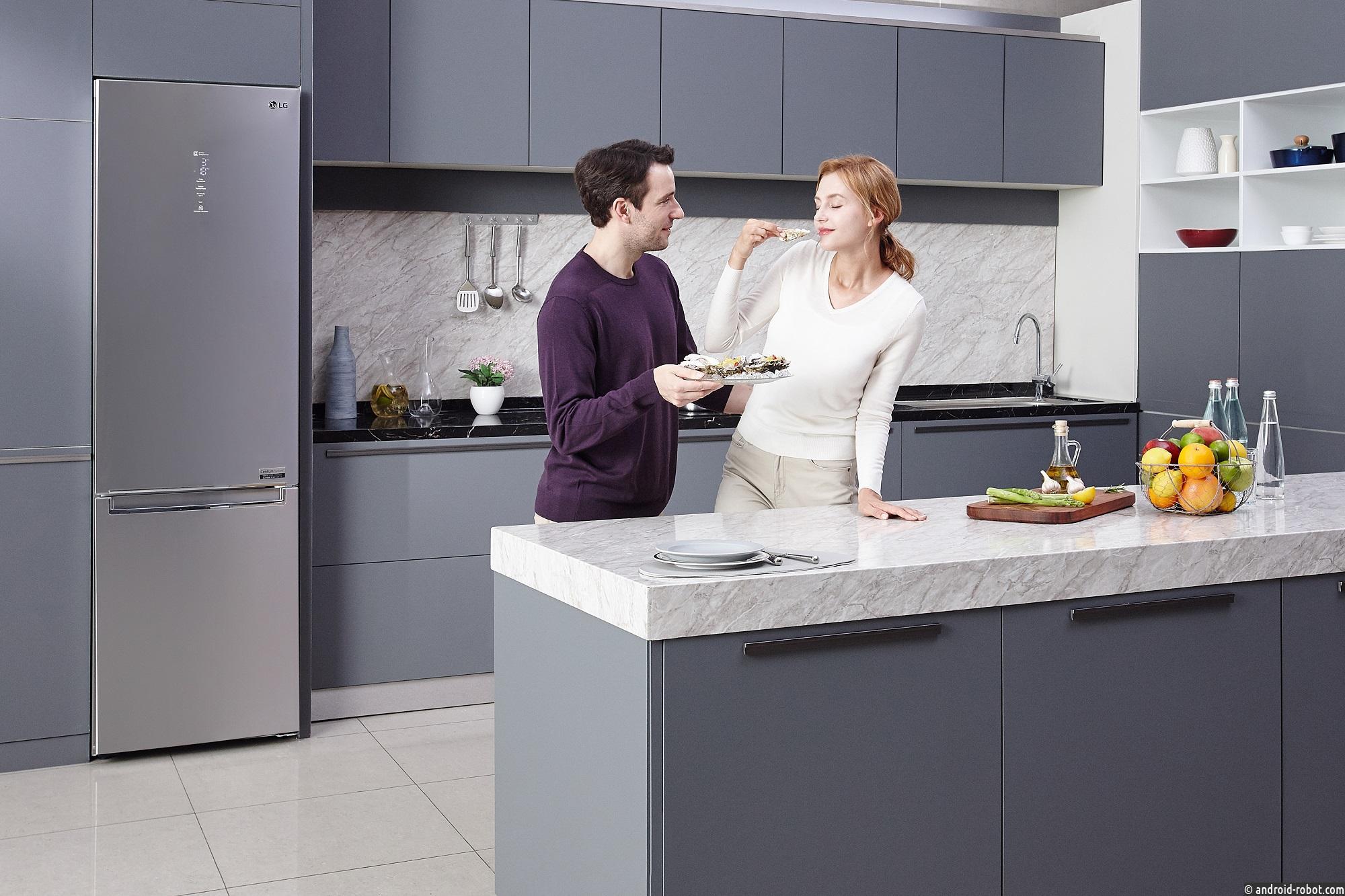 Компания LG представила новые холодильники LG DOORCOOLING+