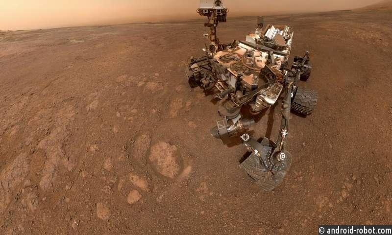 Марсоход Curiosity NASA сделал последнее фото
