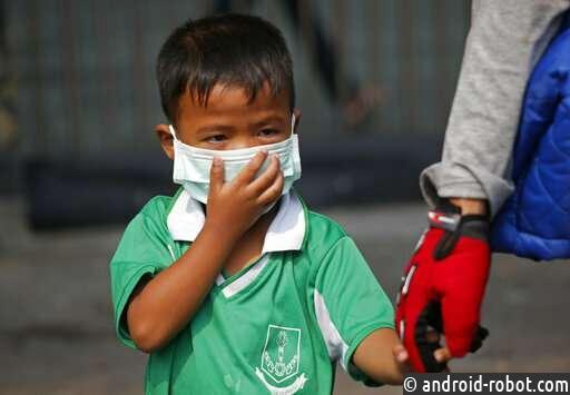 Бангкокские школы закрылись из-за проблем загрязнения воздуха