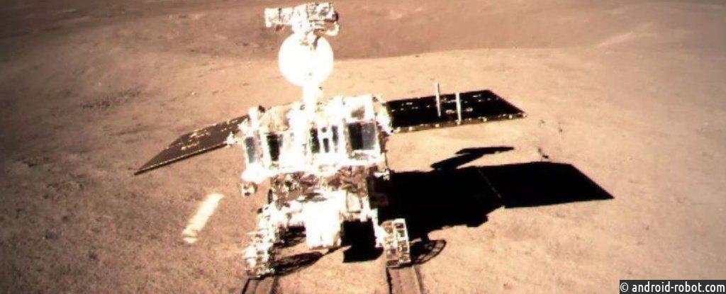 Китайский Moon Rover может искать межпланетное топливо
