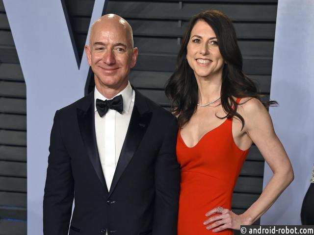 Глава Amazon разводится с женой