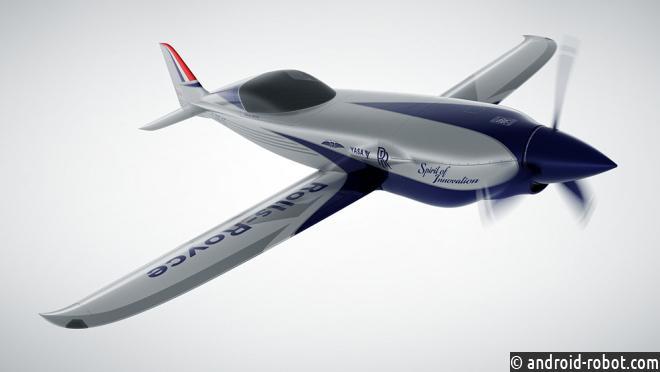 Rolls-Royce строит самый быстрый электрический самолет