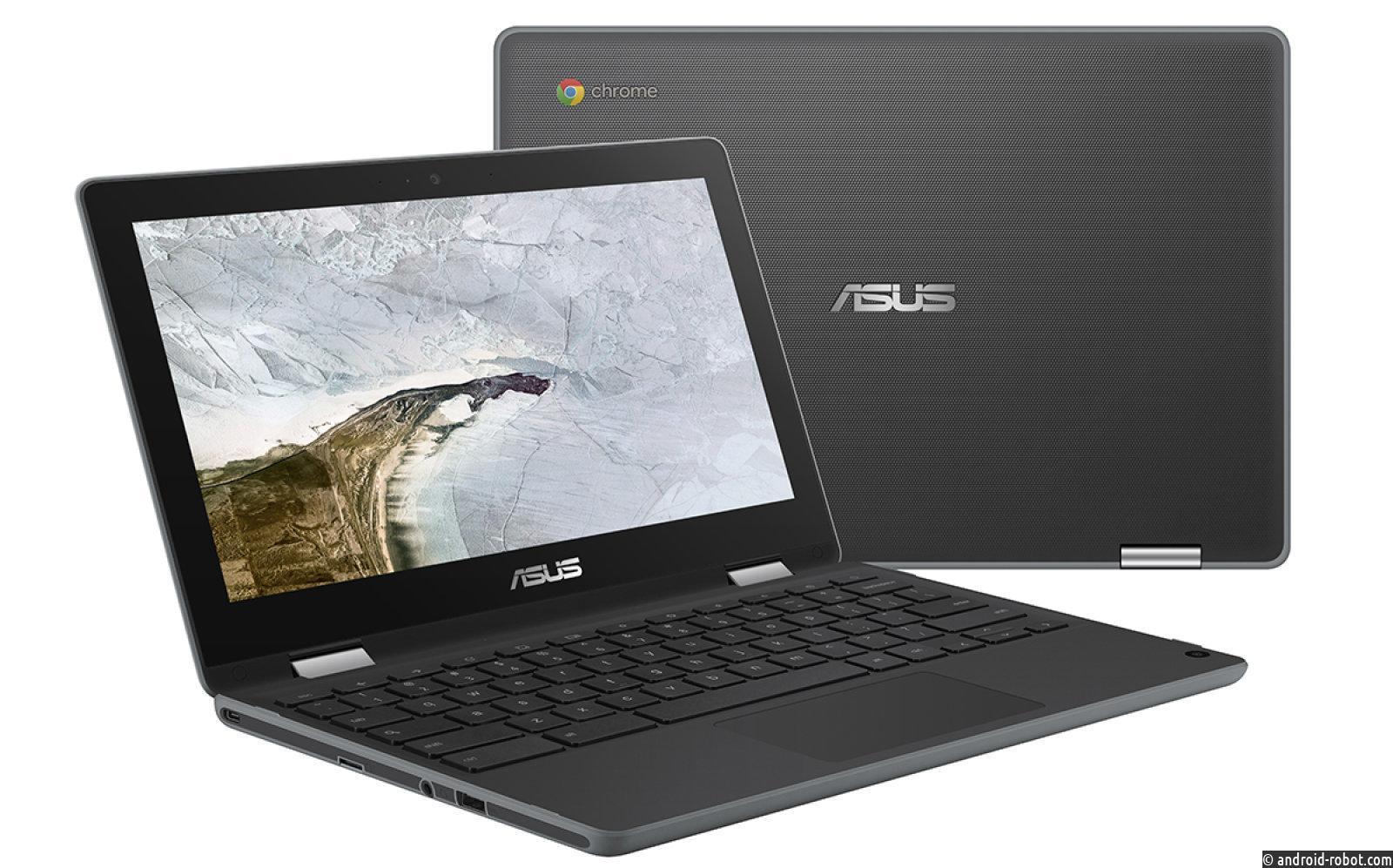 ASUS представила свой первый планшет Chrome OS