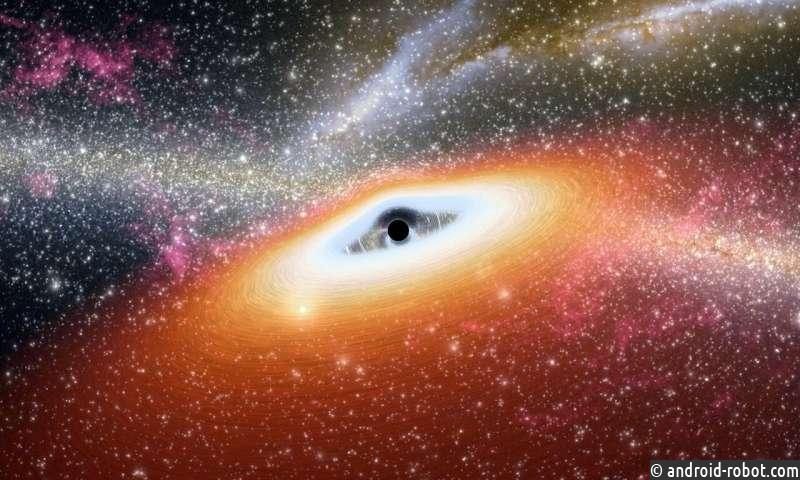 Команда обнаруживает новый способ «питания» сверхмассивных черных дыр