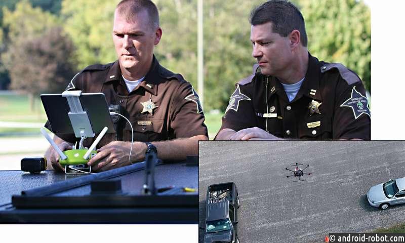 Беспилотные летательные аппараты делают оценку ДТП