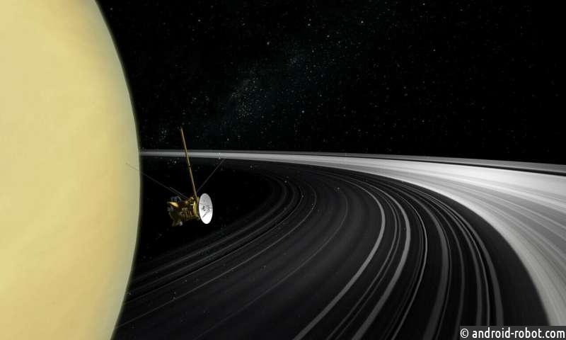 Сатурн не всегда имел кольца