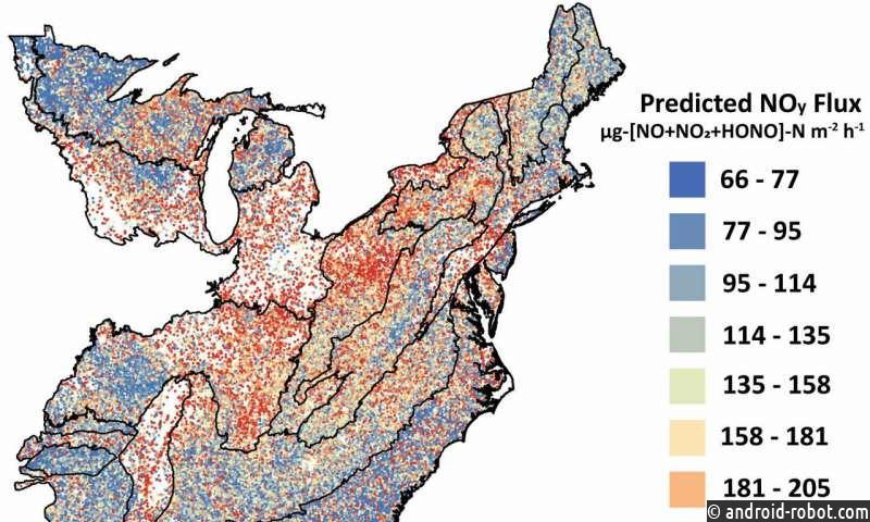 Исследование показывает, как загрязняется воздух с изменением климата