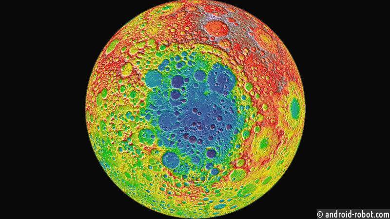 Lunar Lander Китая исследует обратную сторону Луны