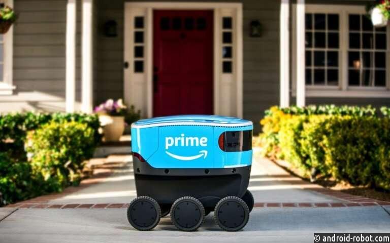 Amazon запускает роботов-курьеров Amazon Scout