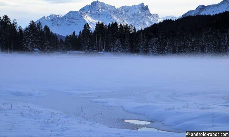Уменьшение снежного покрова приводит к увеличению производства метана в замерзших озерах