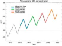 В 2019 году ожидается более быстрый рост выбросов CO2