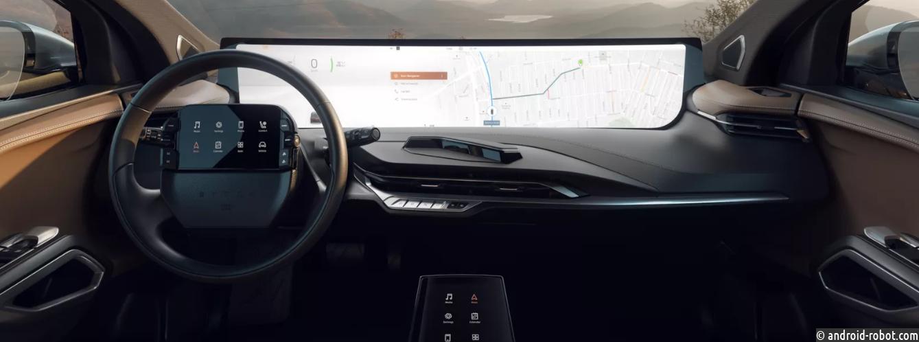 Первый серийный автомобиль стартапа EV также будет оснащен 7-дюймовым дисплеем