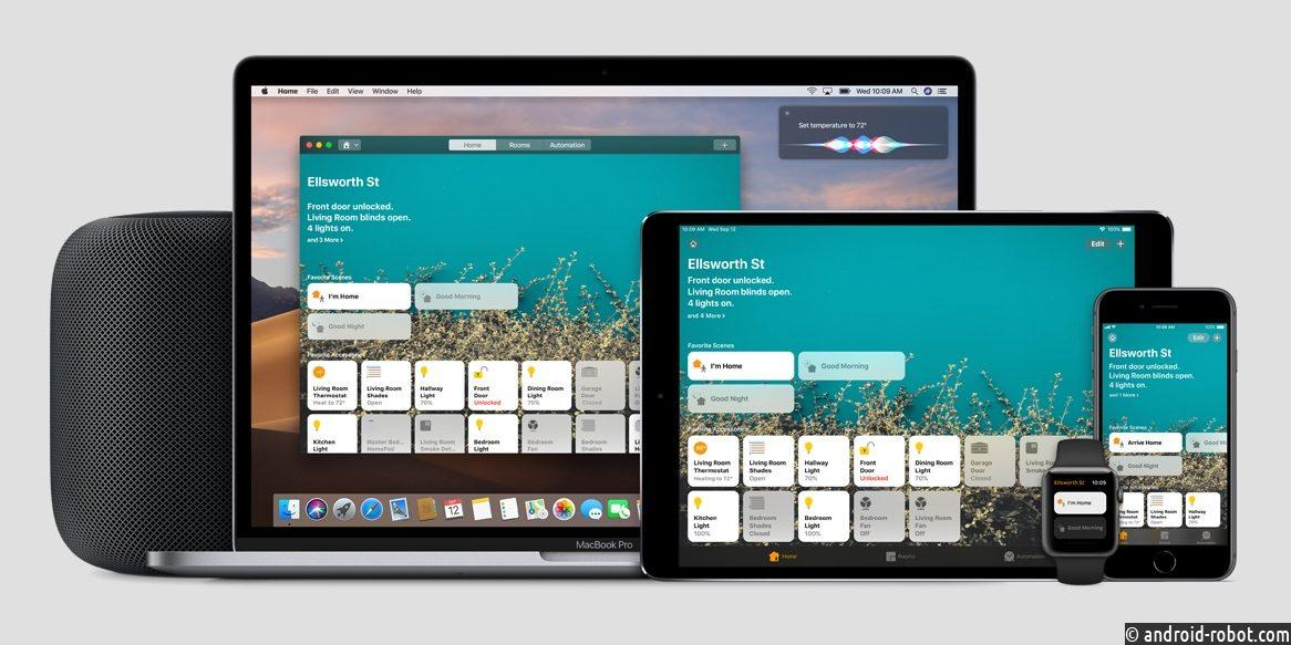Apple продвигает HomeKit на выставке CES 2019