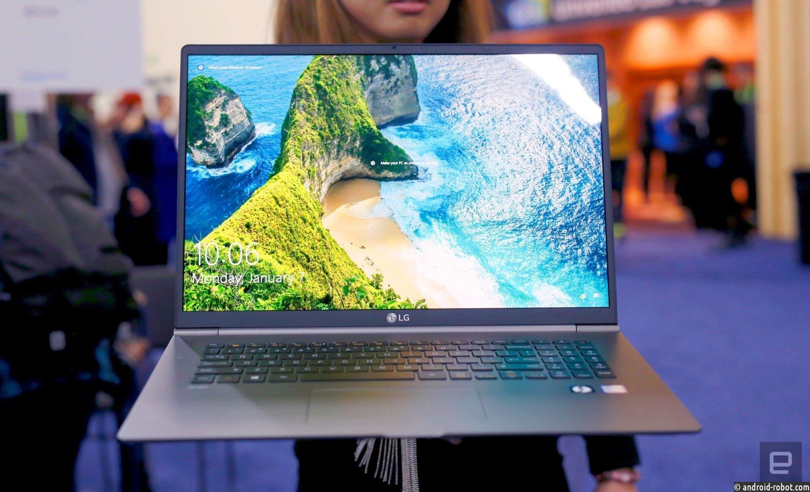 Представлен ноутбук LG Gram 17