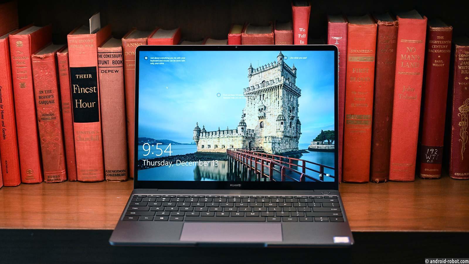 Huawei расширяет свое портфолио ноутбуков с помощью нового MateBook 13.