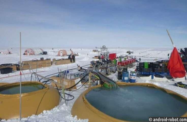Ученые пробурили скважину до рекордных глубин в Западной Антарктиде