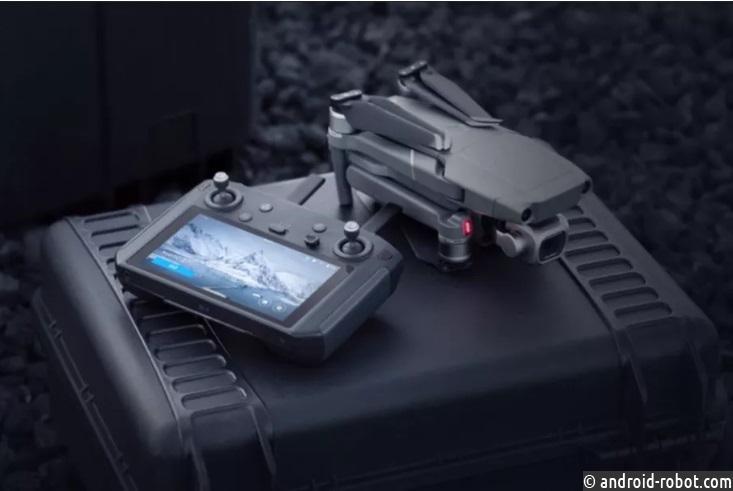 DJI анонсирует контроллер Mavic 2 за $ 650 со встроенным экраном
