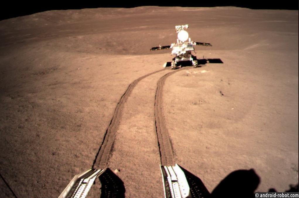 Китайский Yutu-2 движется по противоположной стороне Луны