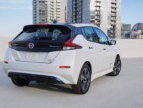 Новый Nissan Leaf едет дальше, быстрее
