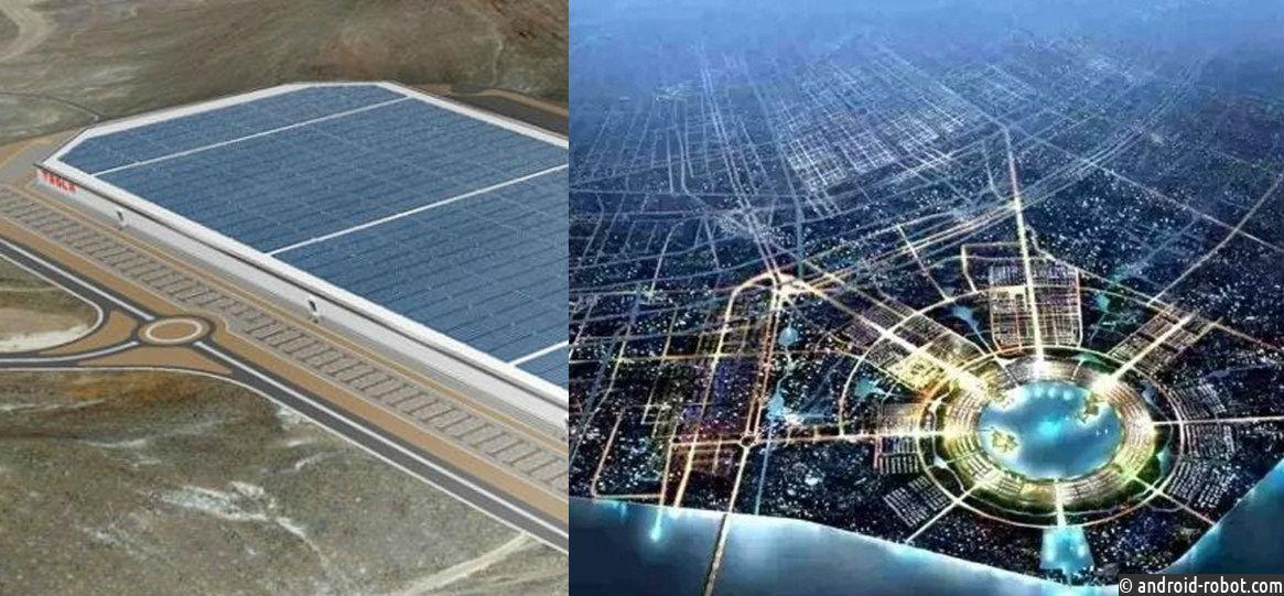 Tesla строит завод Tesla Gigafactory 3 в Китае