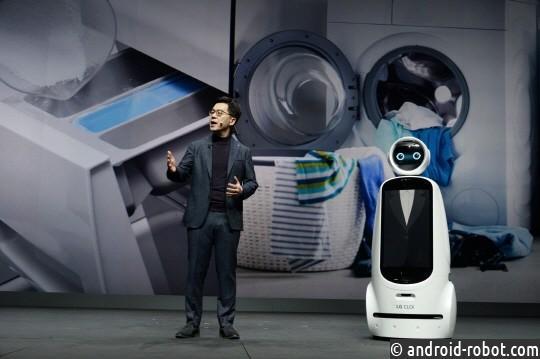 робот-гид LG CLOi GuideBot