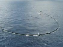 Гигантское устройство для очистки океана сломалось и отбуксировано