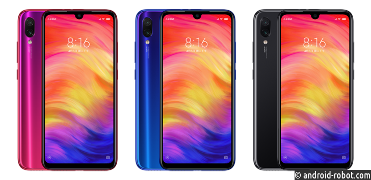 Объявлено о выпуске Xiaomi Redmi Note 7