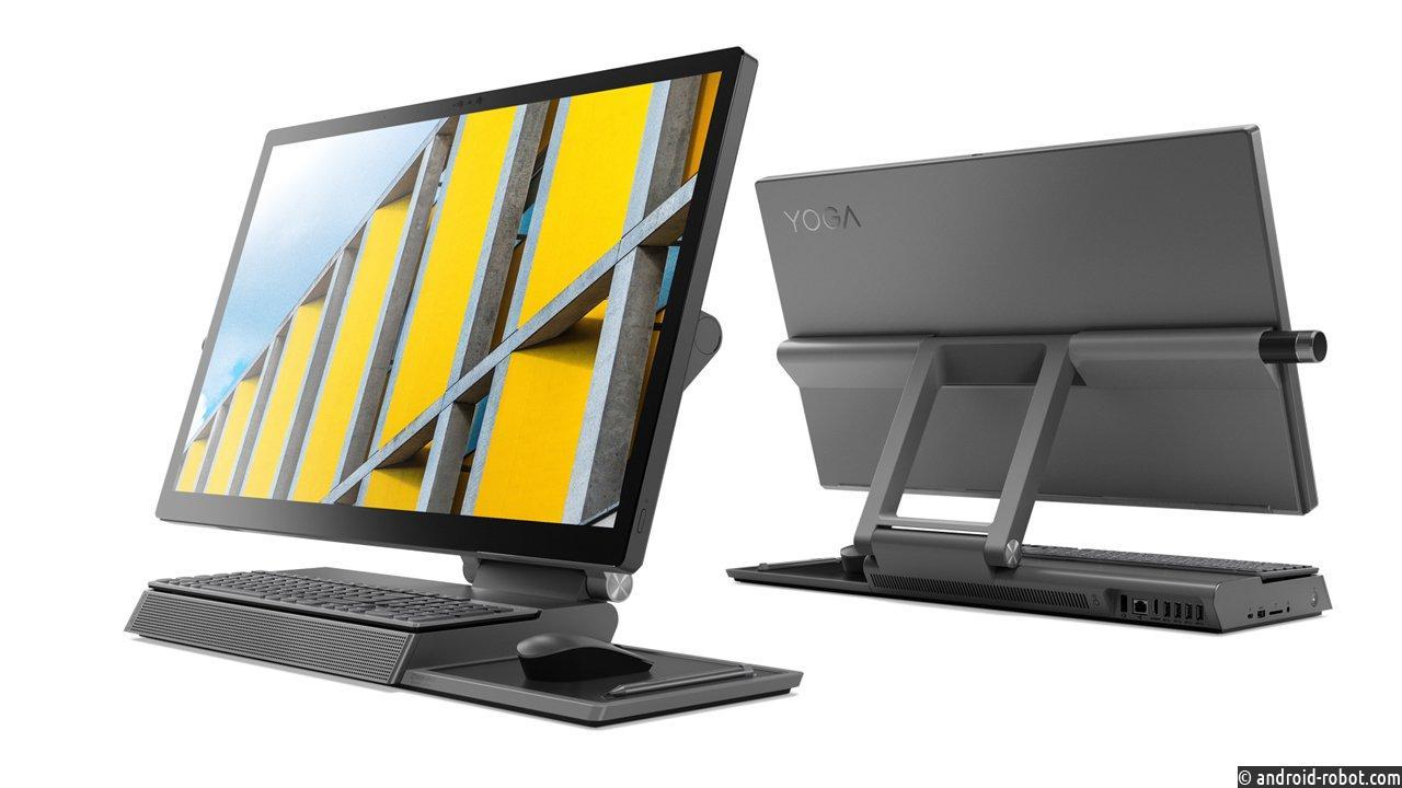 Lenovo запускает новый Yoga A940 - новое универсальное устройство для креативов
