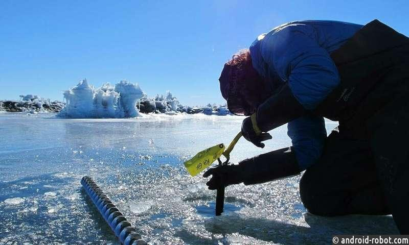Тысячи крошечных землетрясений сотрясают Антарктический лед