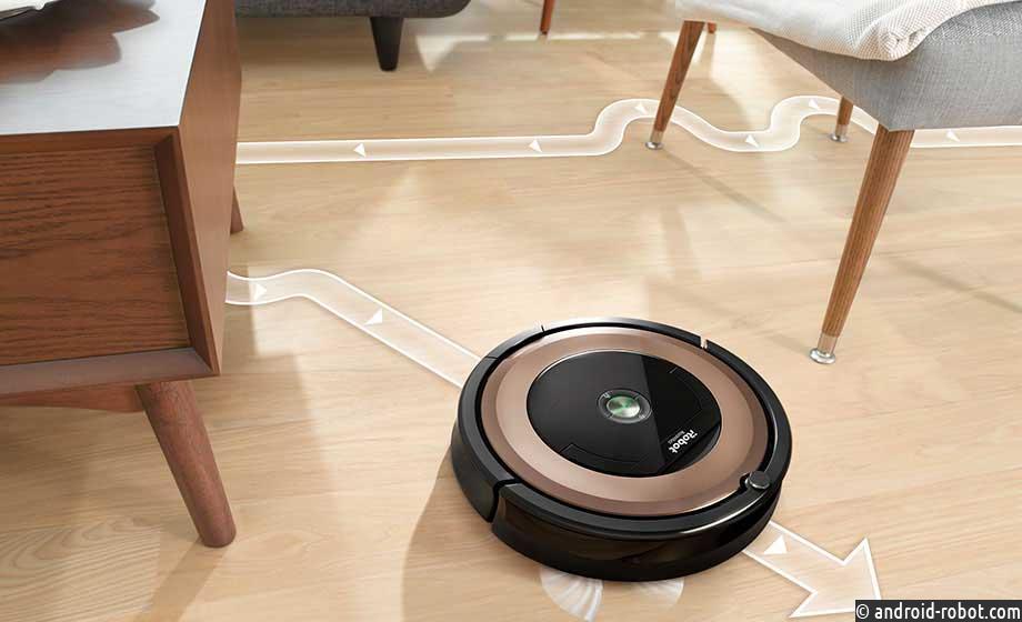 Робот-пылесос с навигацией