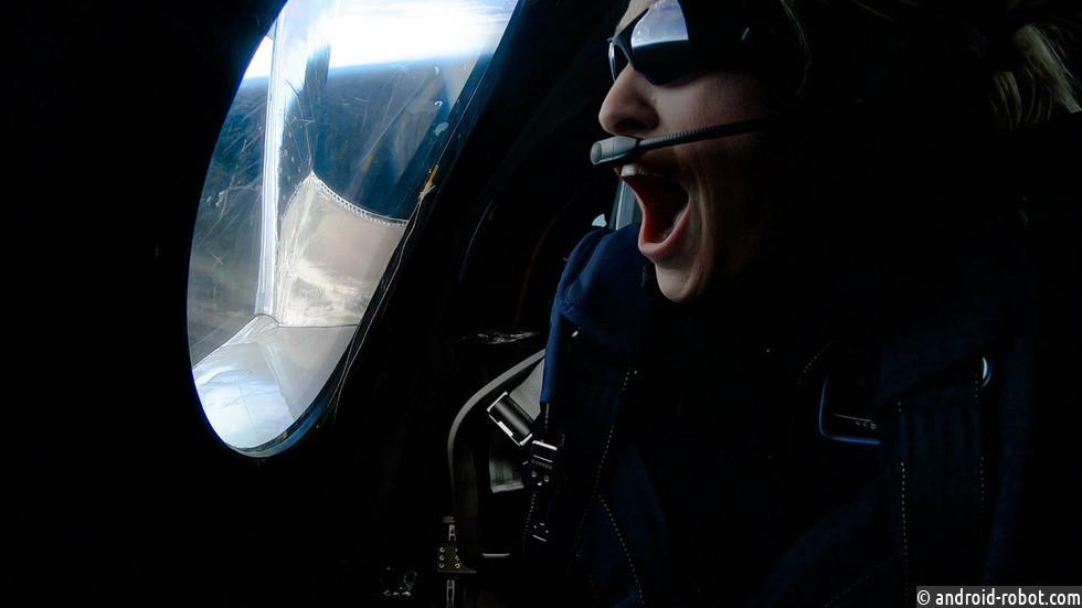 Virgin Galactic отправляет первого человека в космос
