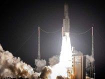 Ракета Ариан выводит спутники связи на орбиту для Индии