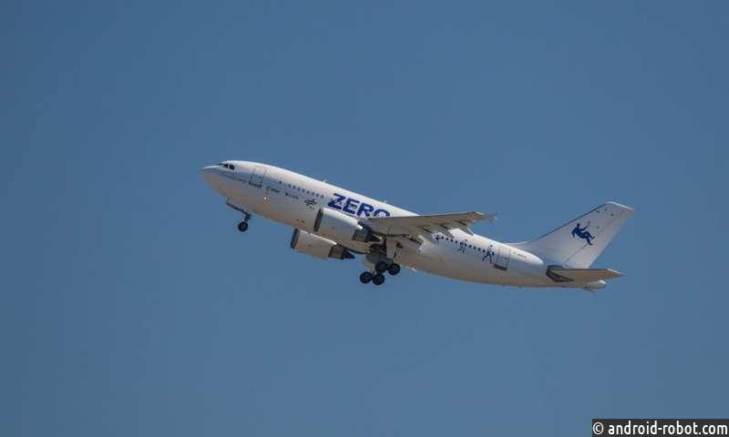 Пройдет новое исследование при создании невесомости в самолете