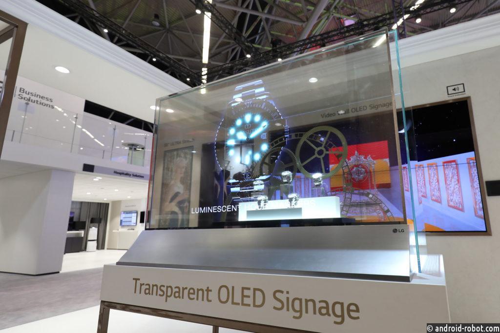 LG представит передовые информационные дисплеи на выставке ISE 2019