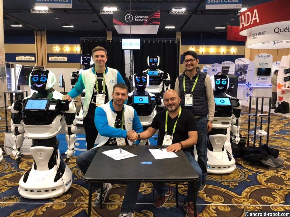 Пермские роботы Promobot появятся в Мексике