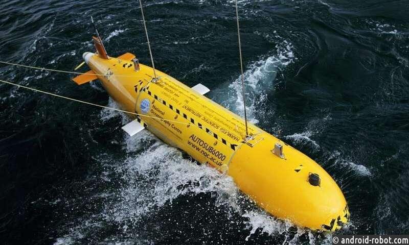 Роботы могут качественно изменить мониторинг морской среды